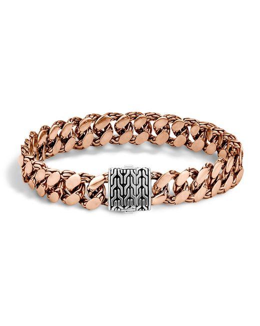 John Hardy | Metallic Men's Large Gourmette Chain Bracelet for Men | Lyst