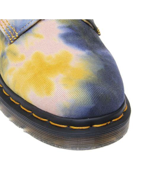Dr. Martens   Blue Dr Martens Graeme Tan Boanil Brush Boots for Men   Lyst