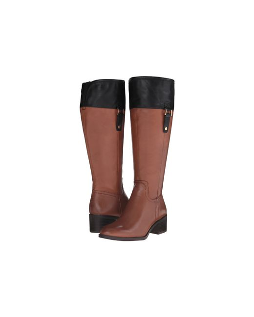 Franco Sarto | Brown Lizbeth Wide Calf | Lyst