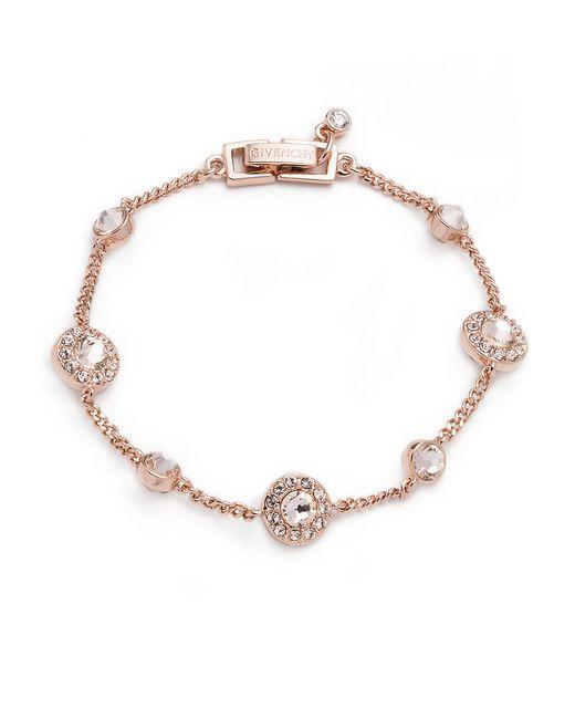 Givenchy | Pink Pave Flex Bracelet | Lyst