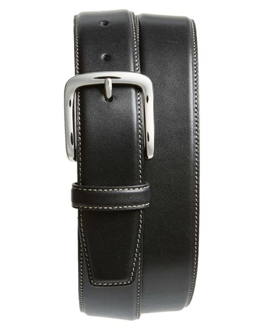 Cole Haan | Black Leather Belt for Men | Lyst