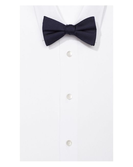 Express | Blue Silk Bow Tie for Men | Lyst
