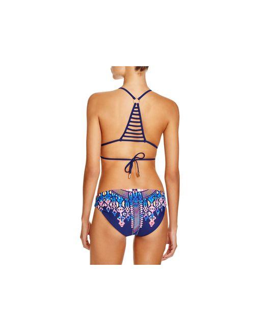 Red Carter | Blue Triangle Bikini Top | Lyst