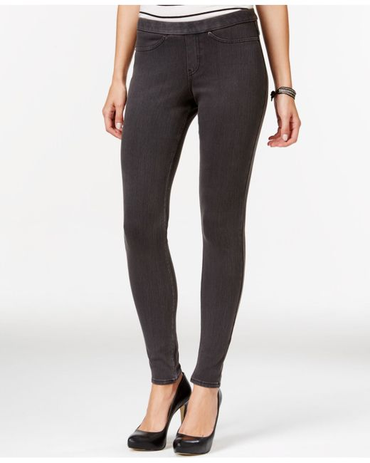 Hue | Gray Original Jean Leggings | Lyst