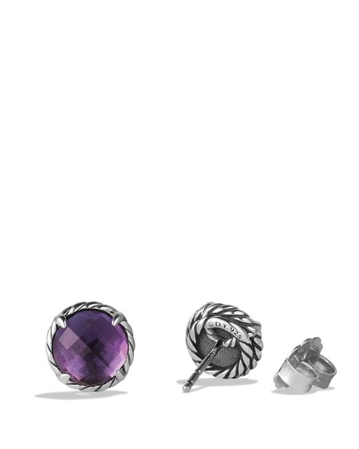 David Yurman | Purple Châtelaine® Earrings With Amethyst | Lyst