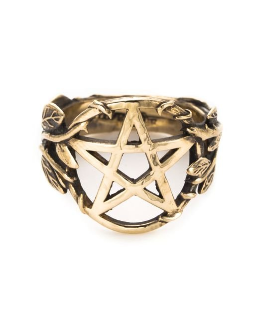 Pamela Love | Metallic Pentagram Ring | Lyst