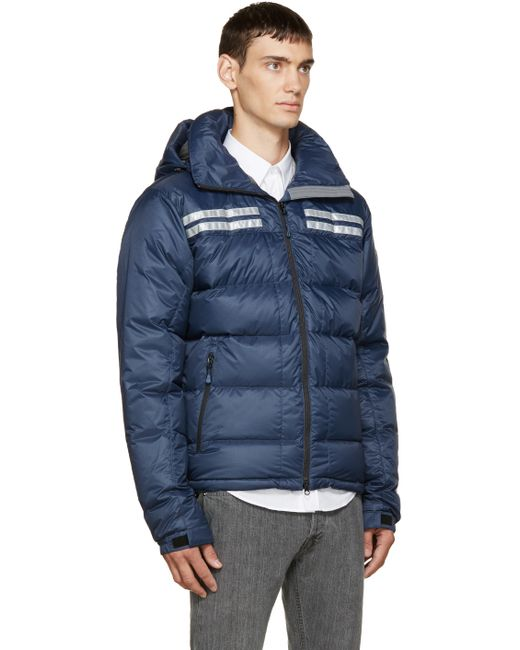 Canada Goose expedition parka outlet cheap - Canada goose Blue Down Summit Jacket in Blue for Men | Lyst