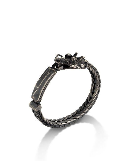 John Hardy | Black Legends Naga Id Bracelet for Men | Lyst