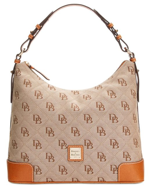 Dooney & Bourke | Natural Americana Signature Erica Hobo | Lyst