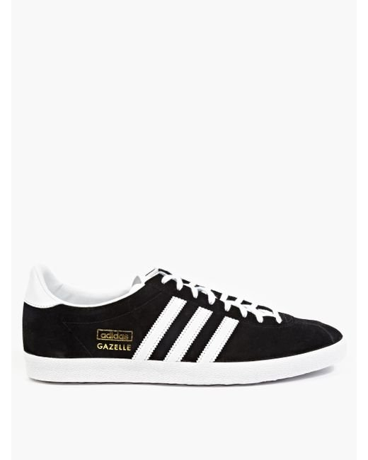Adidas Originals | Black Gazelle Trainers G13265 for Men | Lyst
