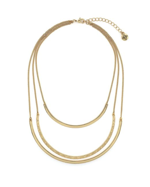 BCBGeneration | Metallic Three-row Collar Necklace for Men | Lyst