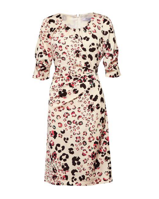 Great Plains   Multicolor Leopard Kisses Ruched Dress   Lyst