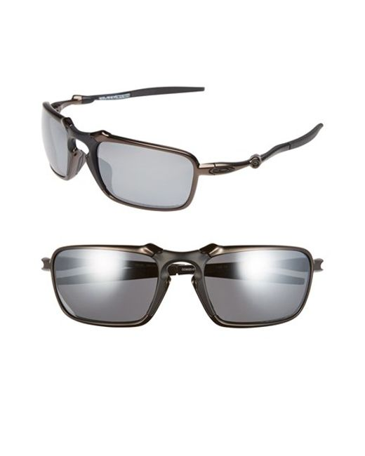 Oakley 'badman' 60mm Polarized Sunglasses - Dark Carbon ...