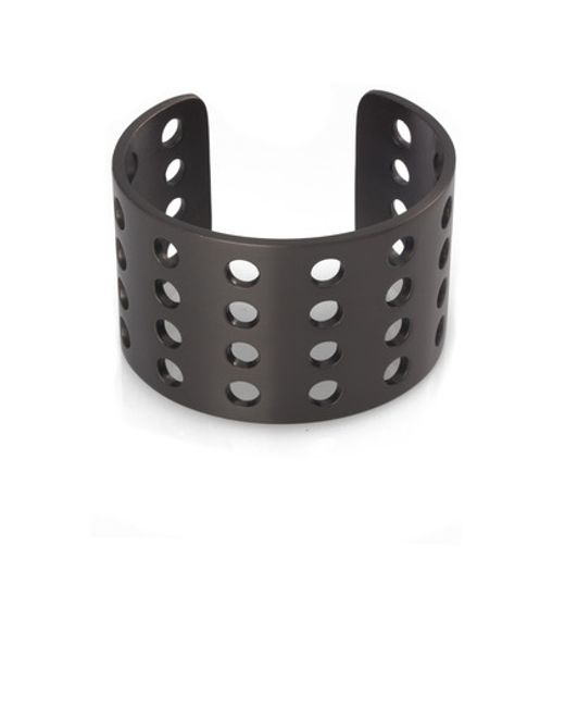 Kelly Wearstler | Black Perforated Cuff | Lyst