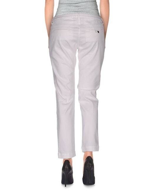 Armani Jeans | White Casual Pants | Lyst
