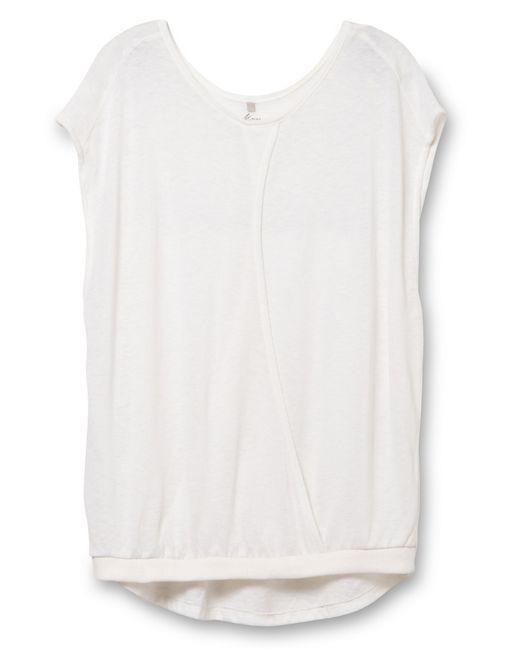 Alternative Apparel | White Pick A Side Eco-gauze Jersey Top | Lyst