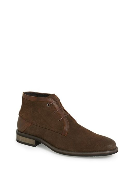 Joe's Jeans | Brown 'bobby' Chukka Boot for Men | Lyst