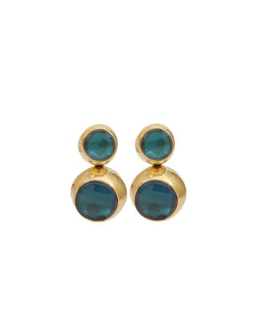 Vaubel | Blue Two Stone Drop Earrings | Lyst