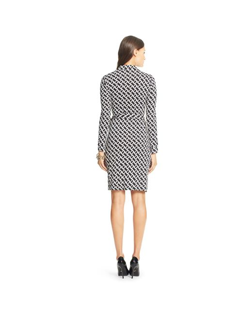 Diane von Furstenberg | Black New Jeanne Two Wrap Dress | Lyst