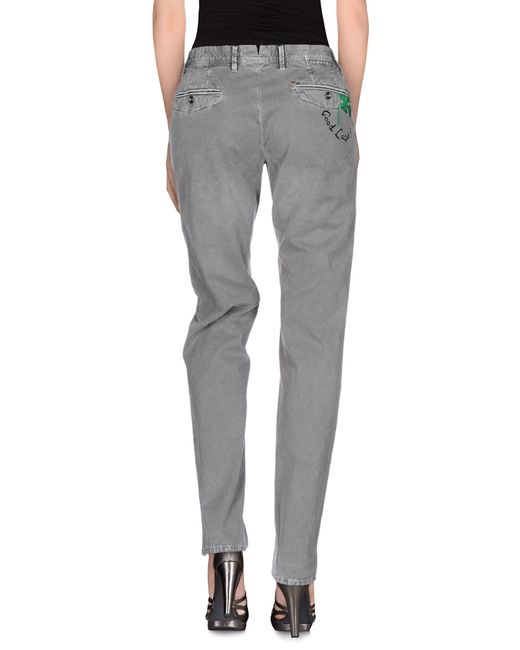 Incotex Red | Gray Casual Trouser | Lyst