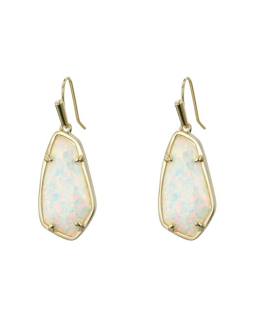 Kendra Scott | Metallic Camelia Earrings | Lyst