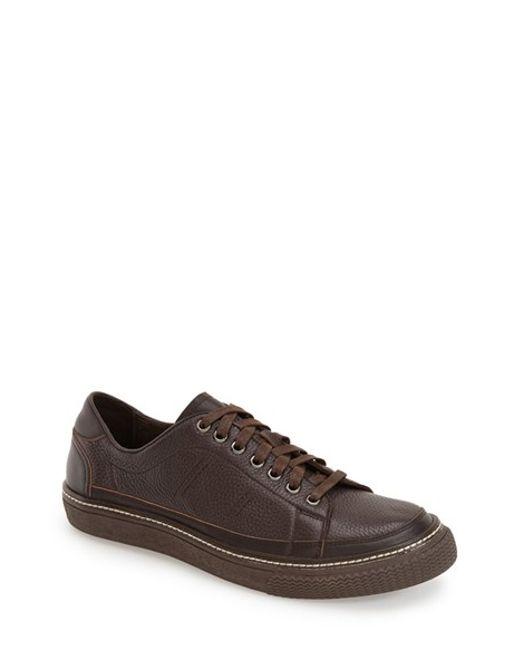 Joe's Jeans | Brown David Leather Sneaker for Men | Lyst