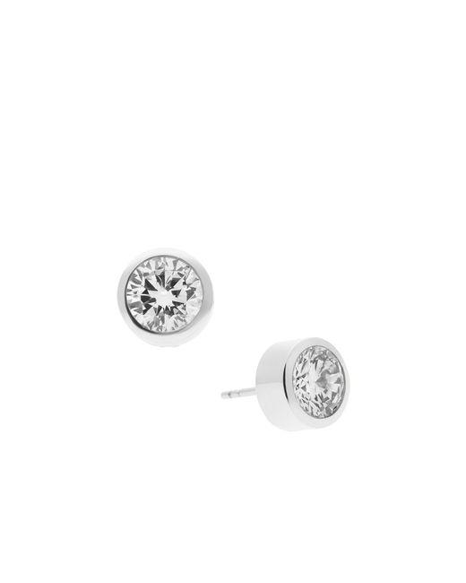 Michael Kors | Metallic Round Cut Stud Earrings | Lyst