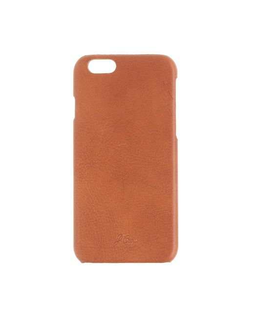leather case for iphone 6 6s in brown lyst
