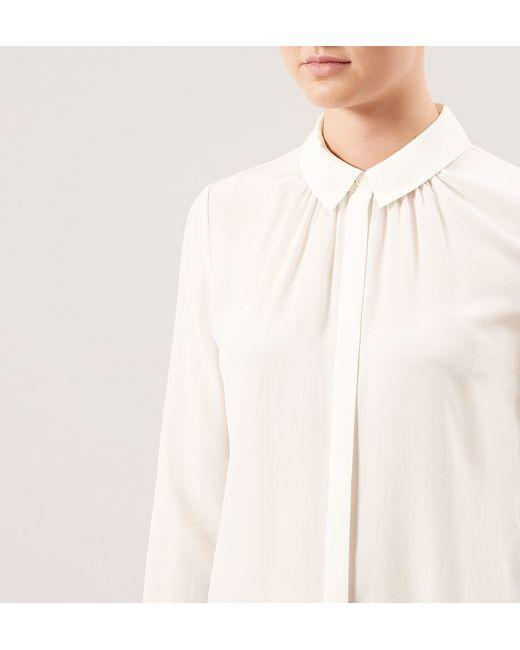 Hobbs | White Calla Shirt | Lyst