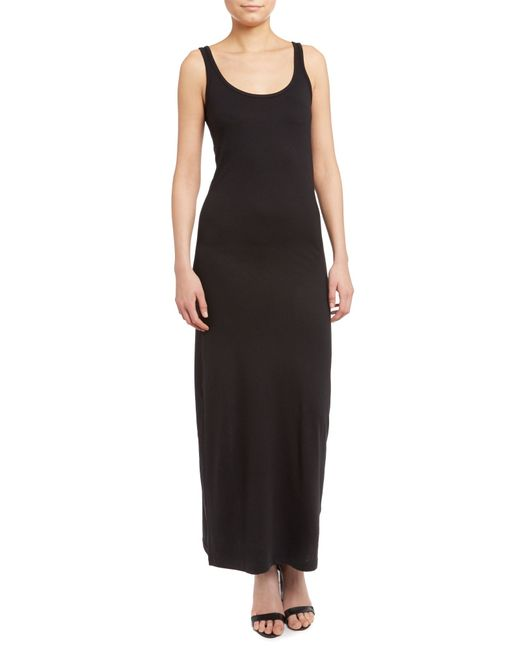 Vero Moda | Black Sleeveless Maxi Dress | Lyst