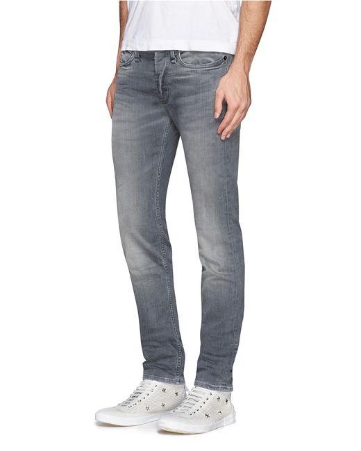 Denham   Gray Razor' Slim Fit Jeans for Men   Lyst
