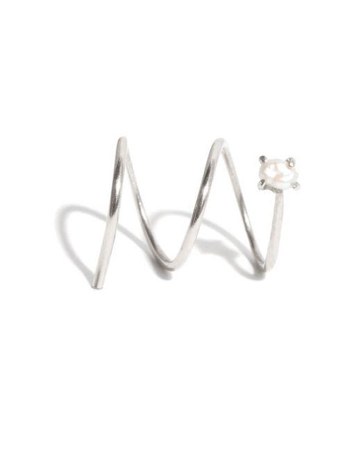 Melissa Joy Manning | Metallic Pearl Double Hug Hoop | Lyst