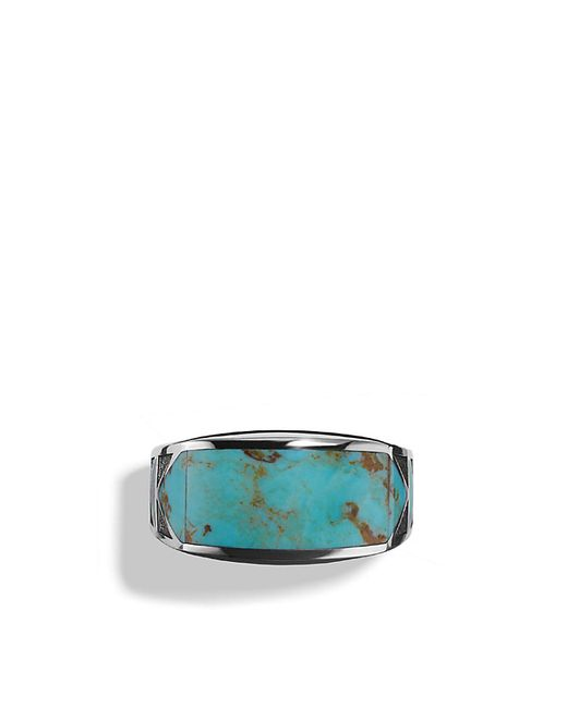 David Yurman | Blue Ring With Turquoise for Men | Lyst
