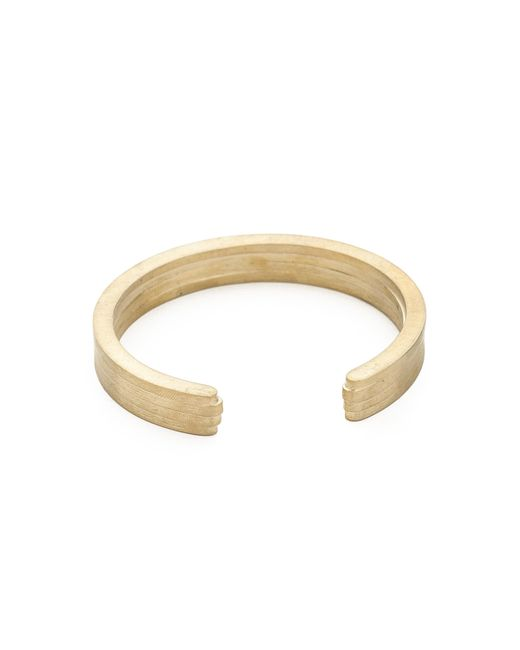 Miansai | Metallic Layered Brass Cuff for Men | Lyst