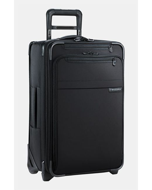 Briggs & Riley | Black 'baseline' Domestic Expandable Rolling Carry-on for Men | Lyst