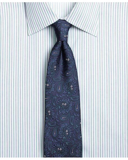 Brooks Brothers | Blue Large Paisley Tie for Men | Lyst