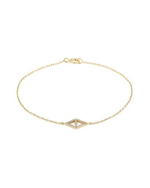 Lito | Metallic 14-karat Gold And Diamond Bracelet | Lyst