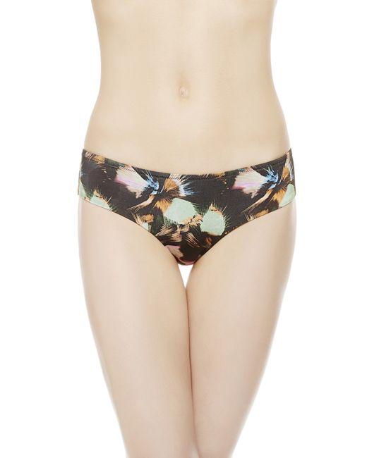 La Perla | Black Mid-rise Bikini Briefs | Lyst