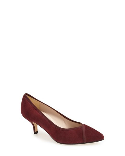 Andre Assous | Purple 'Chloe' Pointy Toe Pump | Lyst