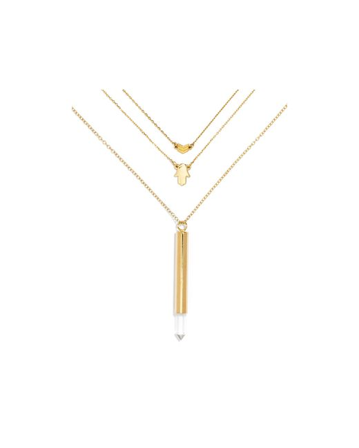 BaubleBar | Metallic Magic Layered Necklaces, Set Of 3 | Lyst
