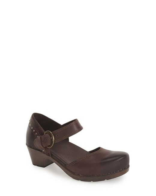 Dansko | Brown 'Makenna' Mary Jane Pump | Lyst