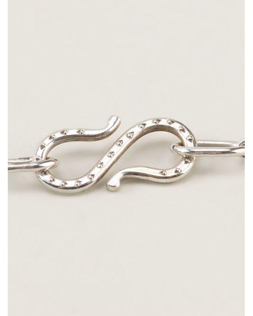 Natasha Zinko | Metallic Hamsa Necklace | Lyst
