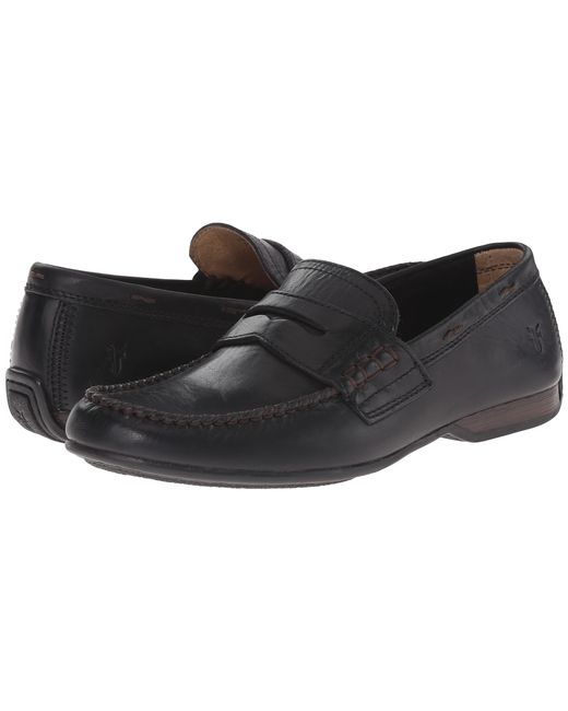 Frye | Black Lewis Penny for Men | Lyst