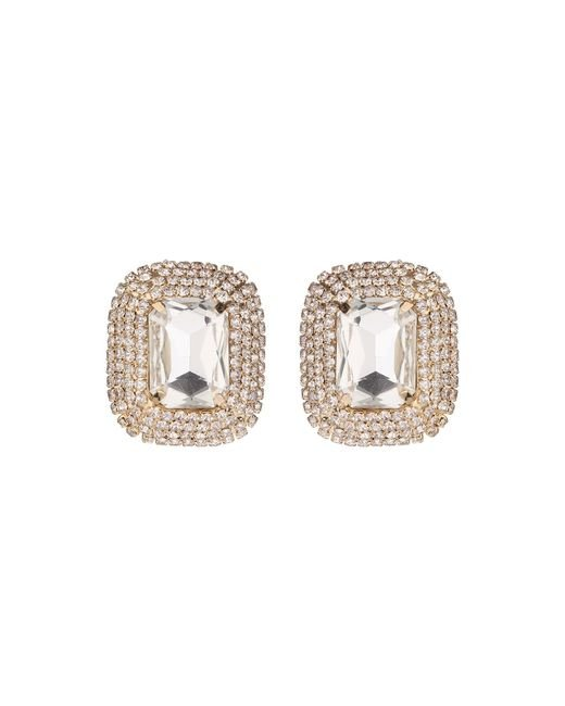 Mikey | Multicolor Rectangle Stone Marquise Drop Clip On | Lyst