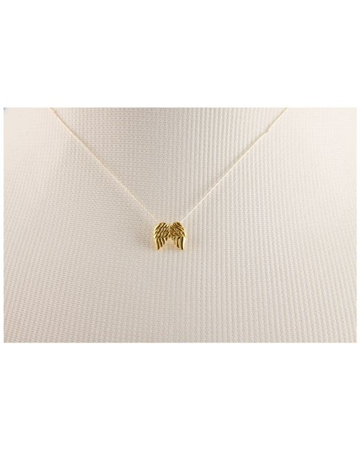 Dogeared   Natural Make A Wish Guardian Angel Necklace   Lyst
