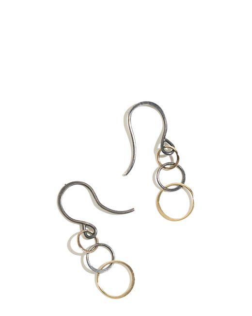 Melissa Joy Manning | Metallic 3 Circle Chain Earrings | Lyst