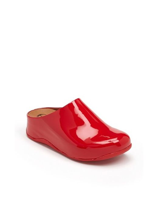 Red dress size 7 fitflop