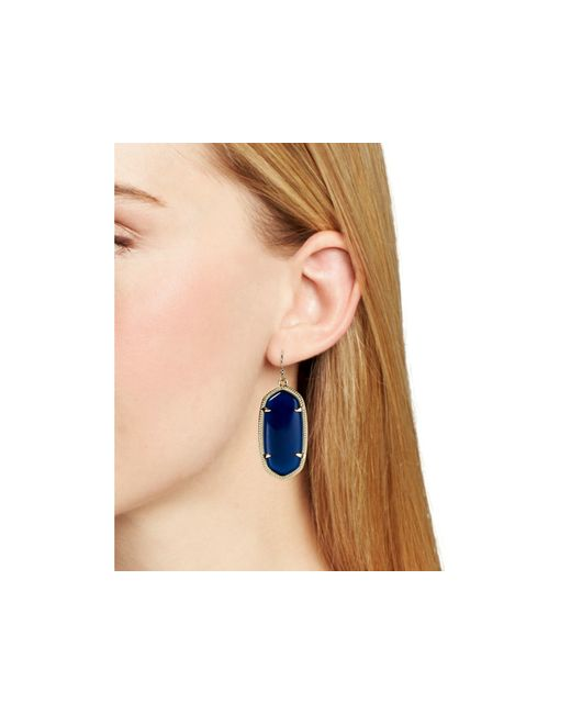 Kendra Scott | Blue Elle Earring | Lyst