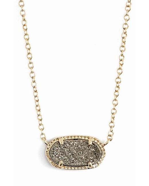 Kendra Scott | Metallic 'elisa' Pendant Necklace | Lyst