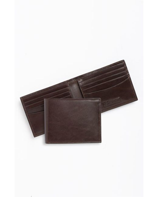 Trafalgar | Brown 'cortina' Bifold Wallet for Men | Lyst